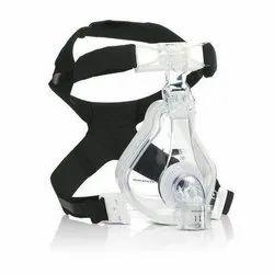 Transparent Silicone Ventilator Mask / Bipap / Cpap Mask, For Hospital