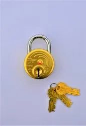 With Key Normal Koyo Maria Brass Pad Lock 67 MM, Packaging Size: <10 Piece