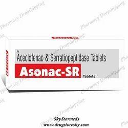 Asonac SR 200 Mg Tablet