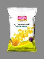 Kiyan Salted Crunch Potato Wafers, Packet, Packaging Size: 80g