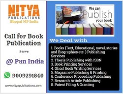 Thesis Publishing Services