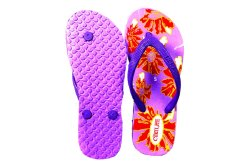 Cekolite Ladies Rubber Printed Flip Flop Slipper
