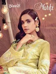 Noor Motifz Cotton With Embroidery Pakistani Suit Catalog