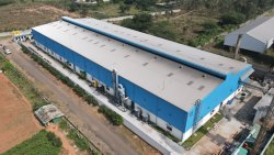 Multi Slope Pre Engineering Building(PEB)
