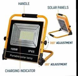 Multi-Functional Rechargeable Solar LED Flood Light 10W With Motion Sensor