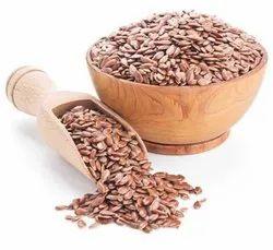 Natural Brown Sortex Clean Linseed, Packaging Type: PP Bag, Packaging Size: 50 Kg