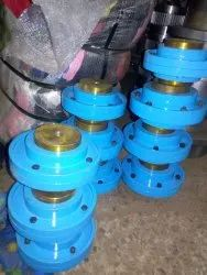 Resilient Spring Grid Coupling