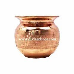 Plain Copper Lota