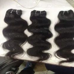 Black Wavy Indian Human Hair For Women And Girl