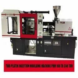 Pratishna Engineers Mild Steel PHM Series Two Platen Injection Molding Machine, Capacity: 160 Ton