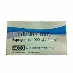 Espogen 4000 IU/0.4 Ml (RH Erythropoietin Injection)