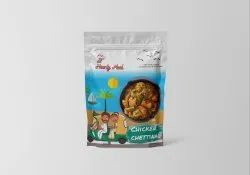 None Plastic Commercial Pouch Packaging Design