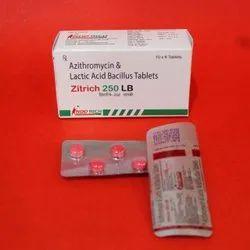 Azithromycin Lactic Acid Bacillus Tablets