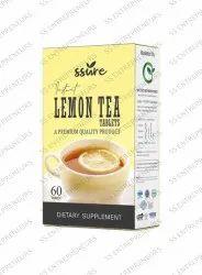 Ssure Lemon Tea Tablets for Weight Loss & Anti- Oxidant Properties