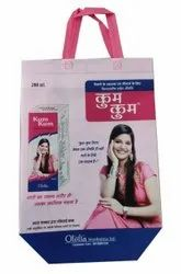 Loop Handle Printed Non Woven  Customized Box Bags