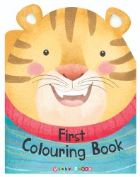 3 Year + First Colouring Book-1