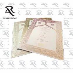 Custom Digital Wedding Cards Printing Service, in Delhi, Size: a4
