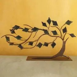 Iron Tree Showpiece, For Tabletop