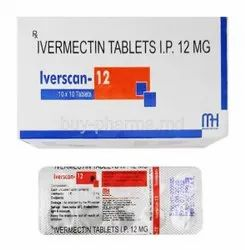 Iverscan-12 Ivermectin 12mg Tablet