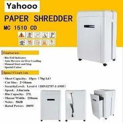 Micro Cut Paper Shredder MC 1510CD