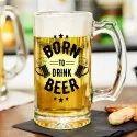 Beer Mug Glass Printing