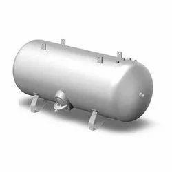 Ms Horizontal Air Receiver Tank, 100 psi, Volume/Capacity: 500 Litre