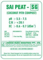Powder Sai Peat - SG (coconut Peat Compost ), Packaging Type: Bag, Packaging Size: 25 Kg