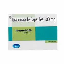 Itrostred 100 Mg Capsules