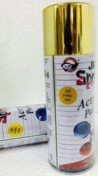 Aerosol Spray Paint - Sparkle Gold - Just Spray Brand