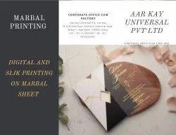 White Marbles Printing Services, Location: Delhi, Size: Std