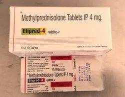 Methylprednisoline 4 mg Tablets