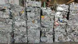 Aluminium Silver Aluminum Casting Scrap Briq 6063, For Melting, Size: Square