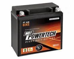 Capacity: 19.5 Ah MDT Powertech Bike Batteries, PT4LB