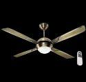 Havells Avion U/L 1320mm Premium Underlight - Ceiling Fan With Remote (Antique Brass Finish)