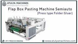 Corrugated Box Flap Pasting Machine