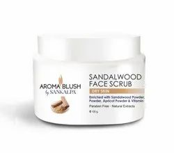 Sandalwood Face Scrub, For Parlour, Pack Size: 100gm