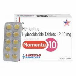 10 mg Memantine Hydrochloride Tablets