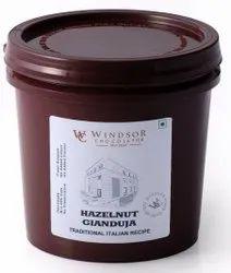 Windsor Chocolatier Brown Gianduja Hazelnut Spread 45