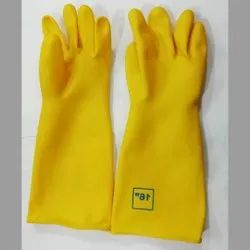 For Industrial 16'' Yellow Gloves