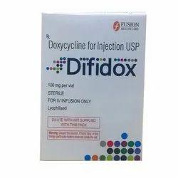 Difidox Doxycycline 100mg Injection