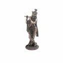 Copper Finish Lord Krishna Idol,Color-Copper, Size-Big