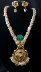 Imitation Jewllery long necklace