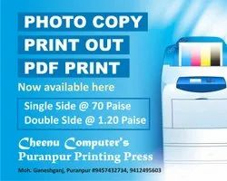 Color Photo Copy Services