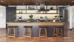 Kitchen Island With Barstools