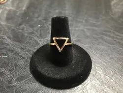 Small Triangle Modern Ring