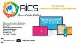 HTML5/CSS Responsive Web Designing Services, With Online Support