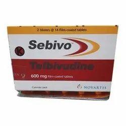 Sebivo 600 Mg Telbivudine Tablets
