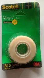 Plastic Magic Tape 3 M 810 Series, For Industries