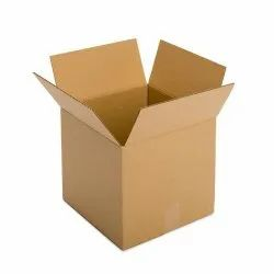 Brown 5 Ply Plain Corrugated Box, Size(LXWXH)(Inches): 18x12x12 Inch
