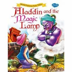 World Famous Fairy Tales Aladdin and The Magic Lamp Different Books